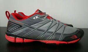 Mens The North Face Litewave Grey Outdoor Trail Shoes Trainers VGC - UK 8