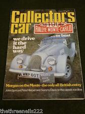 COLLECTORS CAR - FEB 1980 - TRIUMPH 1934 SOUTHERN CROSS