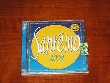 SUPER SANREMO 2009 COMPILATION FESTIVAL CD DOPPIO GEMELLI DIVERSI ALBANO RENGA
