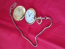 Vintage TIMEX Manual Wind Hunter Case Pocket Watch Working!