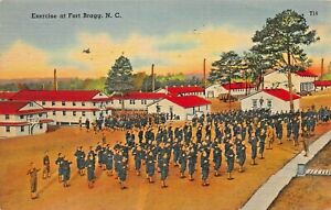 FORT BRAGG~U S ARMY~EXERCISE + ANTI AIRCRAFT SCOUT CAR~LOT 2 MILITARY POSTCARDS