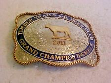 2011 TIMBER TRAILS 4 H BEEF CLUB GRAND CHAMPION FEMALE BELT BUCKLE