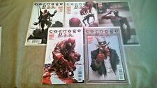 Carnage USA #1-5 Complete Set NM 2012 Marvel Comics Clayton Crain