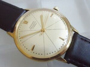 JUNGHANS Trilastic 17 Jewels Cal. 84S 1960er Jahre Top Zustand