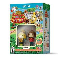 Animal Crossing Amiibo Festival Bundle Pack [ 2 Amiibos & 3 Cards ] (Wii U) NEW