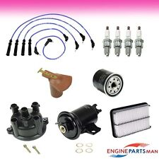 TK1004-10 : Fit 1994 Toyota Pickup 22RE Ignition Tune Up Kit, Air Fuel Filter