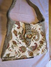 Purse   Recycled  Fabric  7036