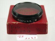 Original Leica Leitz UV-A Aufsteck Push-On Filter Lens 36mm A36 36Ø N.Y. 1191/9
