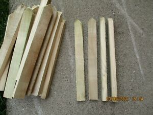 25 x Wooden Tanalised Garden Stakes, 300x25x15mm