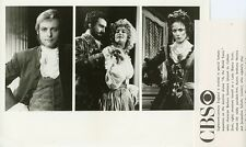 HUGO NAPIER COLLEEN ZENK JACQUELINE SCHULTZ AS THE WORLD TURNS 1982 CBS TV PHOTO