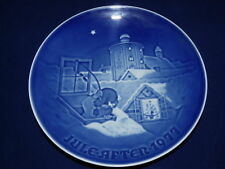 Piatto porcellana Copenhagen - Bing & Grondahl Natale Christmas 1977 1ª scelta