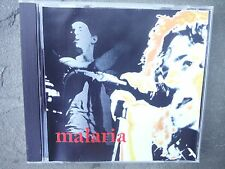 "PEARL JAM ""MALARIA"" PRO SOURCED SILVER DISC CD-BRAND NEW/UNUSED-1995 TOUR"