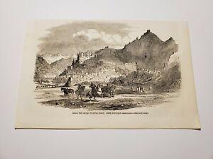 Ladakh The Capital of Little Tibet India c. 1857 Engraving