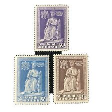 IRELAND, SCOTT # 142-144(3) 1950 ISSUE HOLY YEAR MVLH