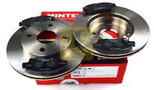 MINTEX FRONT AXLE BRAKE SET DISCS, PADS FOR TOYOTA MDK0213 (REAL IMAGE OF PART)