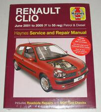 Reparaturanleitung Renault Clio II, Baujahre 2001 - 2005