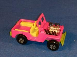 1971 Matchbox Superfast No.2, Jeep Hot Rod, Pink, Gently Used!