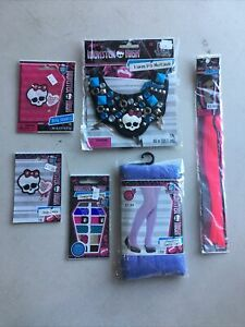 6 Pc Monster High lot Of Accessories For Girls