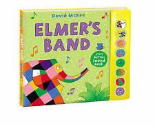 Elmer's Band: A Press-Button Sound Book-ExLibrary