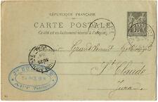 Timbres premier jour français cartes postales, entiers postaux