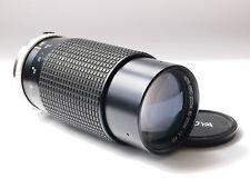 Hoya HMC 80-200mm F4 Obiettivo Zoom per Olympus OM Mount Cameras. STOCK NO u1967