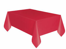 Red Party Table Cover and Skirt