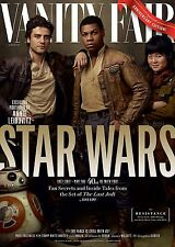 STAR WARS L'ULTIMO JEDI THE LAST JEDI MANIFESTO VANITY FAIR FINN POE DAMERON