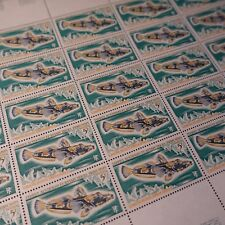 FEUILLE SHEET TAAF N°34 x25 POISSONS 1971 NEUF ** LUXE MNH