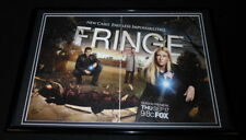 Fringe 2009 Fox Framed ORIGINAL 12x18 Advertising Display Anna Torv
