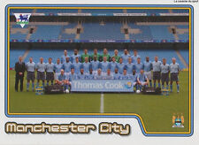 N°324 TEAM EQUIPE MANCHESTER CITY.FC STICKER MERLIN PREMIER LEAGUE 2005