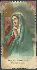 Estampa antigua de la Virgen Dolorosa andachtsbild santino holy card santini