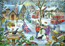 The House Of Puzzles 1000 PIECE JIGSAW PUZZLE - In The Snow Find The Differences