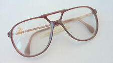 70er 80er Vintage Herren Brille Fassung Doppelsteg Stepper XXL Pilotform size L