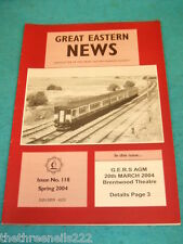 GREAT EASTERN NEWS #118 - SPRING 2004