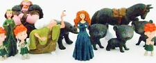 *BRAVE 12 Figure Set PVC TOY Cake Topper MERIDA Witch FERGUS Bear ANGUS Horse!*
