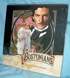 LP FACTORY SEALED! Soundtrack UK Import THE BOSTONIANS Richard Robbins