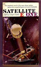 SATELLITE E ONE (Jeffrey Castle/1st US pb/man into space)