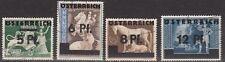 ÖSTERREICH, 1945 DR Aufdruckmarken gest., (9047)
