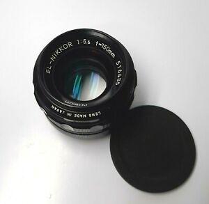 Nikon EL-Nikkor F=150mm f/5.6 enlarger lens/Dust, Fungus between optics—M801
