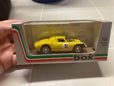 Model box made in Italy 1:43 car Ferrari 275 GTB4