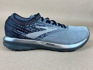 Brooks Mens Ricochet Running Shoes Blue 1102931D049 Lace Up Low Top 9 D