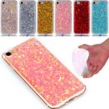 Glitter Silicone Soft TPU Bling Case Cover Back Shell For Various Phone Bumper