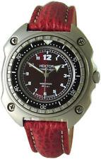 HEKTOR KOMMANDO Hai rot Germany Herren Taucheruhr vintage design watch 20ATM