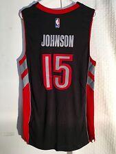 Adidas Swingman Jersey Toronto Raptors Amir Johnson Black sz XL 8045e8d55