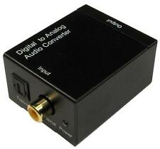 AUDIO CONVERTER OPTICAL/COAX TO R/L Audio Visual, AUDIO CONVERTER,