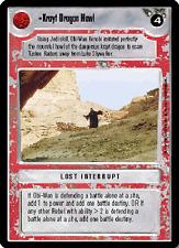 Krayt Dragon Howl [Near Mint/Mint] PREMIERE LIMITED BB star wars ccg swccg