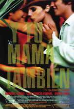 Y Tu Mama Tambien Movie Poster 27x40 Gael Garcia Bernal Diego Luna Maribel Verdu