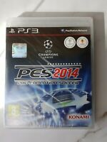 Pro Evolution Soccer PES 2014 (KONAMI) PS3 PlayStation 3 Brand New and Sealed
