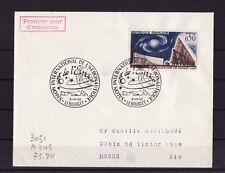ec63/ Enveloppe  salon aéronautique et espace  le Bourget   1963
