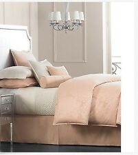 Salon by Hotel Collection Dahlia King Bedskirt Peach Bed Skirt Retail $200.00